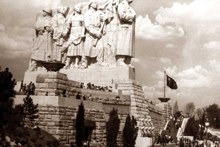 Stalin Monument Historical Photo